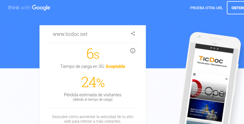 testmyweb google
