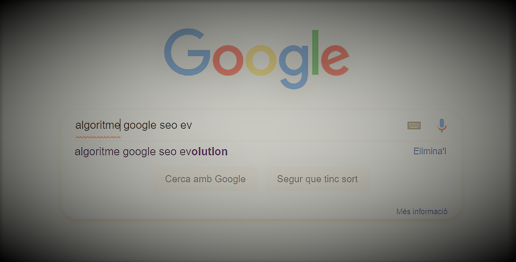 Algoritme Google i evolució SEO